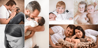 Impressionen Familien Fotoshooting